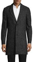 The Kooples Annibale Tweed Wool Coat
