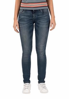 Timezone Women's Slim Silvatz Jeans Blue Blue Wash 3261 W29/L32 (Size: 29/32)
