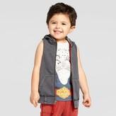 Genuine Kids from OshKosh Toddler Boys' Acid Wash Muscle Sweatshirt Black 3T - Genuine Kids