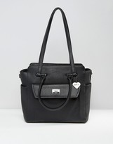 Marc B Structured Winged Shoulder Bag