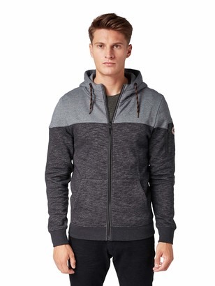 Tom Tailor Men's Zweifarbige Track Jacket