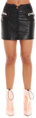 Heron Preston CTNMb Mini Skirt