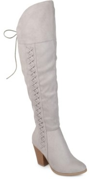 Journee Collection Women's Wide Calf Spritz-p Boot Women's Shoes