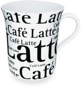 Waechtersbach Mug With Cafe Latte Wording in White