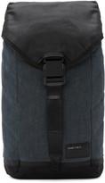 Diesel Indigo & Black D-V-Denim Flap Backpack
