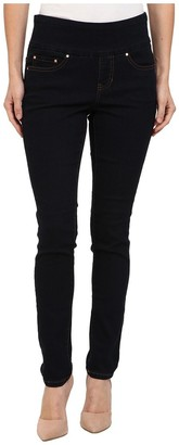 Jag Jeans Women's Petite Nora Pull On Skinny Fit Jean
