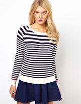 Oasis Fine Stripe Sweater