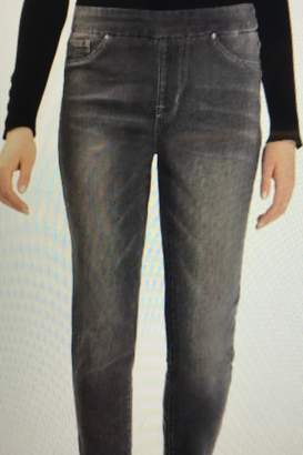 Tribal Jeans Frayed Hem Jeggings