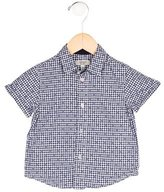 Armani Junior Boys' Gingham Button-Up Shirt