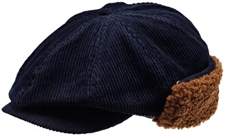 Brixton Men's Brood Eight-Panel Earflap SNAP HAT