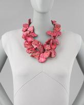 Nest Chunky Pink Jasper Necklace