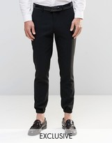 ONLY & SONS Skinny Cuffed Hem Pants with Stretch