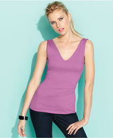 INC International Concepts Top, Sleeveless Back-Front-Reversible Tank