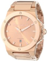 Rockwell Time Unisex CM117 Commander Rose Gold Plated Band and Dial Watch