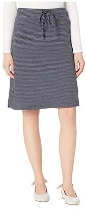 Mod-o-doc Double Stripe Jersey Pull-On Skirt