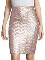 Sequin Pencil Skirt - ShopStyle