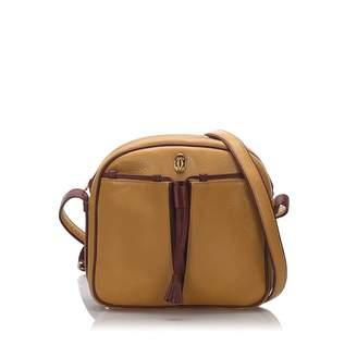 Cartier Camel Leather Handbags