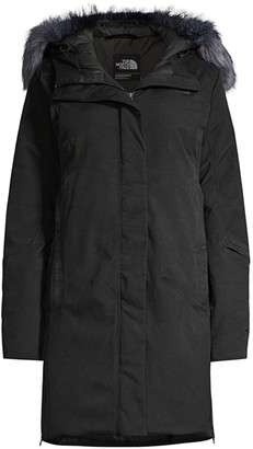 The North Face Defdown Standard-Fit Faux Fur-Trim Nylon-Blend Down Parka