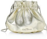 Marc Jacobs The Soiree Metallic Leather Bucket Bag