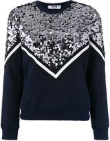 MSGM sequin embellished sweatshirt