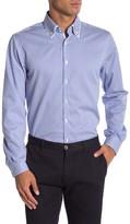 Lindbergh Long Sleeve Double Collar Checkered Regular Fit Shirt