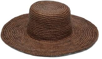 Greenpacha Fiji Toquilla Straw Hat - Womens - Brown