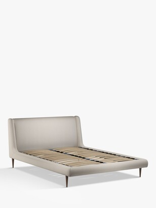 John Lewis & Partners Mid-Century Sweep Upholstered Bed Frame, King Size