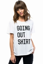 Sub Urban Riot Sub_Urban Riot Going Out Loose Tee in White