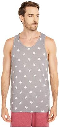 Alternative Marine Tank Top (Grey Stars) Men's Sleeveless