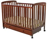 Dream On Me Brianna Convertible Crib with Roll Away Trundle Drawer