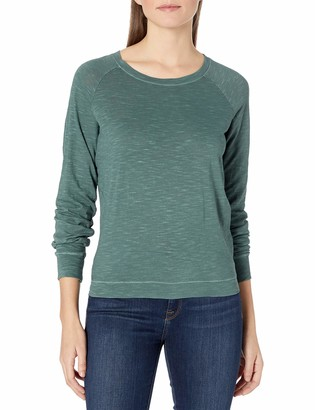 Alternative Women's Slub Slouchy Pullover Top