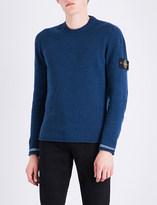 Stone Island Crewneck wool-blend jumper