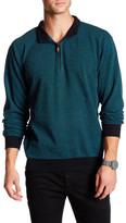 Peter Millar Printed Quarter Zip Pullover