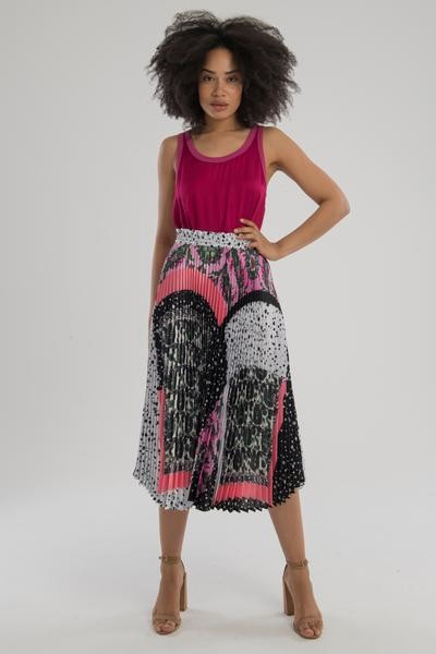 Nation Ltd. The Jojo Relaxed Top In Punch - XS