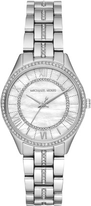 Michael Kors Women's Mini Lauryn Crystal Bracelet Strap Watch