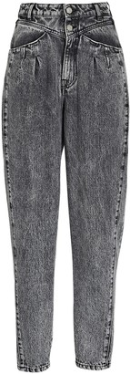 IRO Corto Tapered High-Rise Jeans