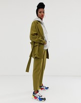 Asos Design DESIGN safari suit pants