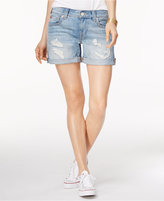 True Religion Jayde Ripped Denim Shorts