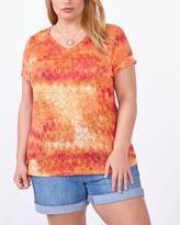 Penningtons Shaped Fit Printed T-Shirt