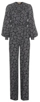 Michael Kors Printed Silk Jumpsuit