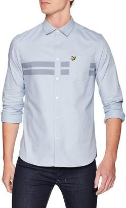 Lyle & Scott Men's Chest Stripe Shirt Casual