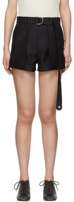 Lanvin Black Belted Shorts