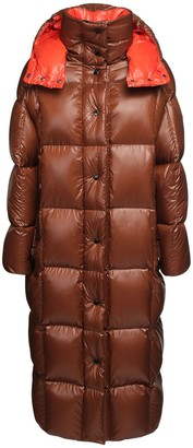 Moncler Parnaiba Long Nylon Down Jacket