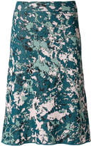 M Missoni patterned lurex midi skirt