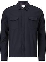 Samsoe & Samsoe Aran Shirt Jacket, Dark Sapphire