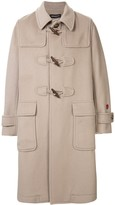Undercover single-breasted duffle coat