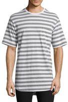 Diesel Black Gold Oversized Striped T-Shirt
