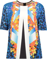 Peter Pilotto Marina printed scuba top