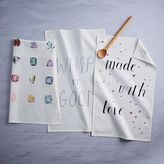 Graphic Print Tea Towels
