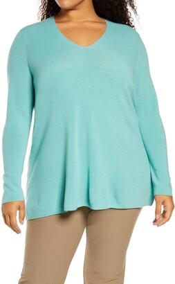 Eileen Fisher Superfine Merino Wool Tunic